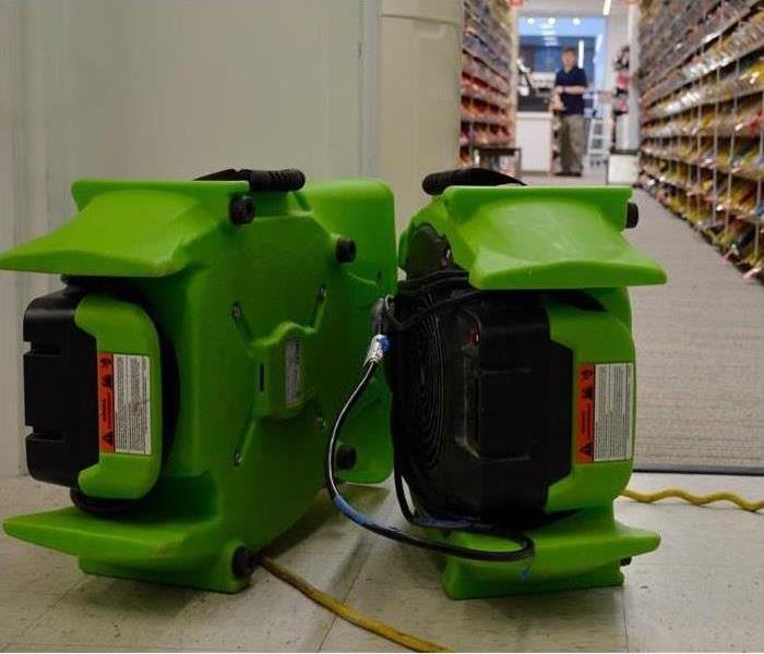 Two air movers